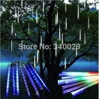 Fancy Beautiful Meteor Shower Falling Star/Rain Drop/Icicle Snow Fall LED Xmas Tree String Lights