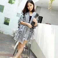 2014 New Hot Women's 17m Long Soft Silk Chiffon Scarf Wrap /Polka Dot/Leopard Shawl Scarves For Women, 20 colors
