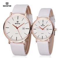 2014 Fashion lover watches leather quartz watch fashion women men lovers watch luxury brand