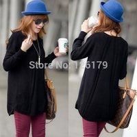 6 Colors Fashion Style Sweater Coat Women's Sweaters Long Sleeve Knitwear Render Sweater