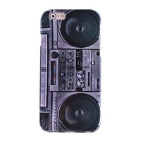 Free Shipping For iphone 6 (4.7 inches) case Hi-Q Vintage Radio Water Decals Pattern TPU Soft Case for iPhone6