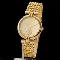 2014 new Luxury Brand Full Steel Bracelets Tops Women Dress Brand Hours Rhinestone Watches Fashion & Casual watch