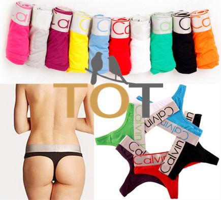 TFOZT Super Deal 1PCS cotton sexy women's thong underwear women G-String briefs women Sexy Women's Briefs Wholesale 2015 4001(China (Mainland))