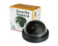 Emulational fake false decoy dummy security surveillance CCTV camera indoor video monitor thermal system install IR LED BLINKING