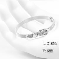 2014 Hot Sale Bracelets & Bangles Stainless Steel BUCKLE Bracelets For Women