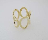 Gold GP Fashion women Big Hole Bangle Cuff Bracelet SY012 Free shipping Gift