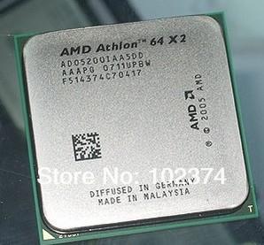 AMD K8 5200+ CPU AMD Athlon 64 X2 5200+ 2.7GHz Socket AM2 65W Dual-Core Processor ADO5200IAA5DO Free shipping#0994(China (Mainland))