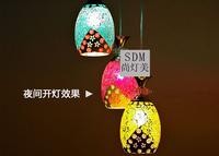 modern glass pendant lights for living room vintage pendant lamp stained glass pendant light for Bar Restaurant Home Decor
