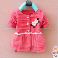 baby girls dress[ Kids ] Korean origin woven clothing wholesale children's clothing Boys Hot Girls Jacket