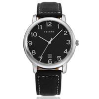 High Quality FeiFan Brand Leather Strap Watches men luxury brand Quartz Watch Japan Movement Wristwatch AW-SB-1084