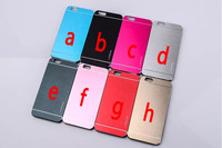 100 pcs/lot Motomo Luxury Steel Brushed Aluminum Metal+plastic cover case for iphone 6 4.7 inch for iphone5s 5 4 4s DHL