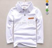 New 2014 Spring&Autumn long sleeve boy t shirts,original designer long-sleeved kids big boys t shirt,children t-shirts 2-14years