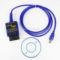 ELM327 MINI V1.5 ODB2 OBD II USB Car Scanner Tool Blue Diagnostic Scanner Scan