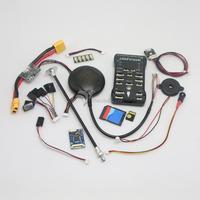 Pixhawk PX4 2.4.5 32 bit ARM Flight Controller & LEA-6H GPS/4G TF Card/Led External/PPM/PM Module for RC Multicopter