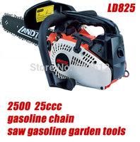 4 pcs/lot 2500  25ccc gasoline chain saw gasoline garden tools  NEW