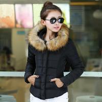 2014 Fashion down coat women Winter jacket,winter outerwear,winter clothes women thick jackets Parka Overcoat Tops Fur Collar