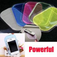Powerful Sticky Dashboard Silica Gel Car Bus Magic Sticky Pad Anti Slip Non Slip Mat for Phone PDA mp3 mp4 Car Holder