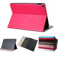 HF Hand Strap Card Wallet Smart Cover Leather Case Stand Cover Protector Skin For Apple ipad air 2 ipad 6