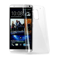 For htc one max T6 809d 8088 New High Quality Transparent Hard Plastic Crystal Clear Luxury Protective Cover Lily's Shop