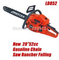 "New 20""52cc Gasoline Chain Saw Rancher Felling"