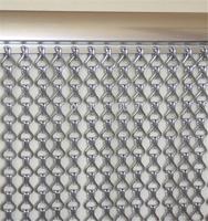 Decorative Gunmetal  Aluminum  Chain Link Screen Curtain