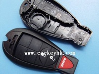 Best quality with good price Chrysler 2+1 button remote key blank with smart card key and chrysler key emblem