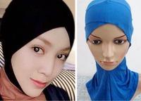 Muslim hijab under ware hijab inner cap 2014 New arrival 100% cotton Muslim Scarves hijab Brand Design 16 Colors New