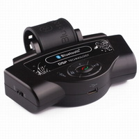 Wireless Steering Wheel Bluetooth Handsfree Speakerphone Car Kit Support Two Phone Connection AQC33