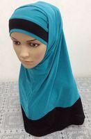 Islamic hijab Muslim Fashion Scarves Multicolor Optional Women Muslim Scarves Wraps Hijab Muslims Caps Scarf hijab 11 Colors