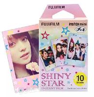 10 pcs fashion star pattern fujifilm instax mini 8 film free shipping
