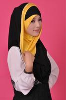 2014 latest fashion Muslim long hijab Islamic Scarf Multicolored Optional Women Muslim Scarves Islamic hijab High Quality