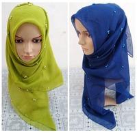 Muslim hijab Islamic scarf Multicolored Optional Women Muslim Scarves 2014 latest fashion Islamic hijab 2014 Fashion Hot Sales