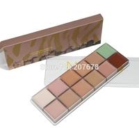 2014 New Hot Makeup12 color Natural Face Concealer Cosmetics Naked3 Palette Make up set Free Shipping