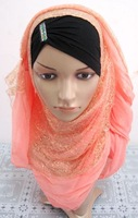Islamic hijab scarf Multicolored Optional Women Muslim Scarves Islamic hijab Women Muslim Scarves 2014 New arrival