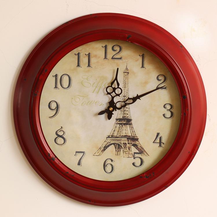 Horloge murale lumineuse achetez des lots petit prix for Horloge murale fer forge