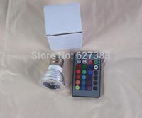 Free Shipping wholesale 10pcs/lot IQ puzzle lamp IQ jigsaw lights accessory 16 changed colors led bulb light