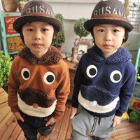 Kids Hoodies Fashion Lovely Childrens Sweatshirt  Boys Long Sleeve Fleece T-Shirts Tops For Autumn Winter New  Children Clothing