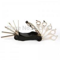 17 in 1 multifunctional bicycle repair tools Bicycle repair tool sets 220g freeshipping