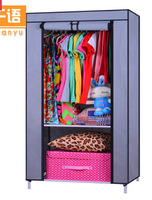 simple /Strengthen/A single special assembling  Cloth wardrobe