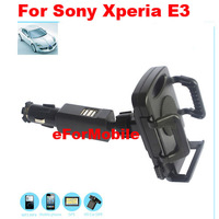 New Car Charger Holder Mobile Phone Car Holder Rotary Holder+stylus For Sony Xperia E3 Dual D2212 D2203 D2206