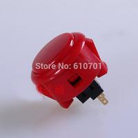 Red Original Sanwa Push Button OBSF-30 30mm Arcade Jamma game Joystick Wobble Switch 2pcs