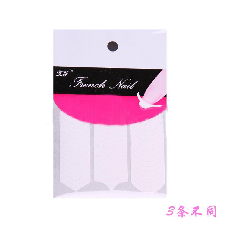 manicure ferramenta densy sorriso postado linha de sorriso vara francês manicure francês etiqueta produtos unha polonês etiqueta do prego(China (Mainland))