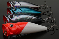 Free shipping Artificial Bait  Multi color Ocean Rock Fshing fishing lures fishing bait  fishing tackle 71MM/10G 103c