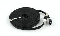 500pcs A Lot 3M Wholesale flat noodle usb cable