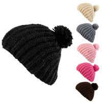 Fashion Korean Winter Autumn Women Fur Cap Casual Knit Cap Button Twisted Beanies With Flower Warm Hat Black White Pink Beige