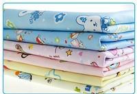 Free shipping Baby baby bamboo fiber cotton waterproof mattress pad baby products washable changing mat pad 50 * 70