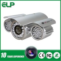Shenzhen cheap 1200tvl sony cmos outdoor waterproof & vandal resist  IR  bullet cctv  camera housing ELP-3120N