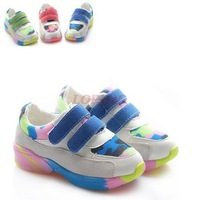 2014 New Autumn Children Sports Shoe Sneakers For Kid Girl Brand Child Kids Little Girls High Casual Shoes Sport Sneaker