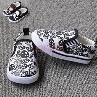 Children Canvas Shoes 2014 New Summer Fashion Kids Shoe For Kid Little Boys Skull MJ Designer Brand Toddler Boy Sneakers