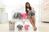70cm Plush Toy & Stuffed Animals Elephant, Toys & Hobbies Plush Animals, Red Plush Elephant for Christmas's Gift
